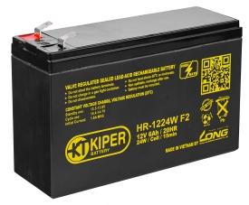 Аккумулятор для ИБП Kiper HR-1224W F2 (12В/6 А·ч)