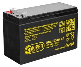 Аккумулятор для ИБП Kiper HRL-1234W F2 (12В/9 А·ч)