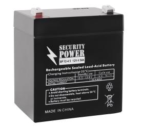 Аккумулятор для ИБП Security Power SP 12-4,5 F1 (12В/4.5 А·ч)