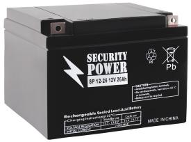 Аккумулятор для ИБП Security Power SP 12-26 (12В/26 А·ч)