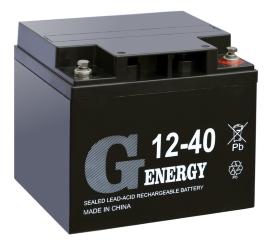 Аккумуляторная батарея G-energy 12-40