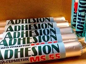 Клей-герметик ADHESION MS55 прозрачный, 290 мл