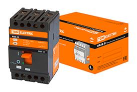 Автоматичнские выключатели ВА88-33 3Р 16А-160A 35кА TDM