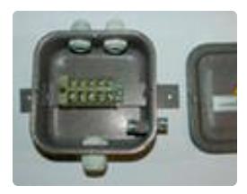 Коробка КС-05 с клеммн. цельнотян. (145х145х50) IP54