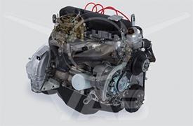 Двигатель (для а/м УАЗ с диафрагменным сцеплением)