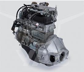 Двигатель (для а/м УАЗ СГР, с диафрагменным сцеплением, инжектор)