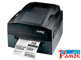 Бюджетные термо/термотрансферные принтеры штрихкода Godex G300/G330