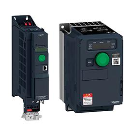 Преобразователи частоты низкого напряжения для асинхронных и синхронных электродвигателей ATV 320