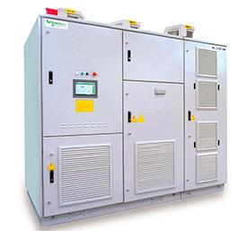 Преобразователи частоты среднего напряжения для асинхронных и синхронных электродвигателей ATV 1200