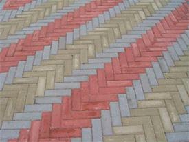 Плитка тротуарная П21.11.6-МЦк-а * В25 СТБ1071-2007