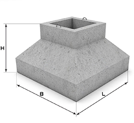 Фундаменты железобетонные для колонн
