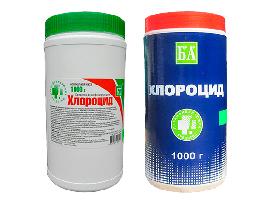 Средство для дезинфекции Хлороцид 1кг 370 табл/уп