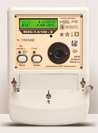 Счетчик активной электрической энергии переменного тока статический однофазный многотарифный МЭС-1 - ПСДТУ (Гродно)