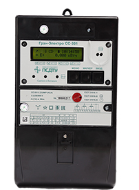 Счетчик электрической энергии переменного тока статический Гран-Электро СС-301 - Гран Система-С