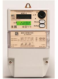 Счетчик электрической энергии переменного тока статический трехфазный многотарифный МЭС-3
