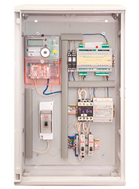 Шкаф управления уличным освещением (устройство низковольтное комплектное «ПСДТУ» ШУЭ-Н-GPRS/[CC-101-140S], «ПСДТУ» ШУЭ-Н-GPRS/[CC-301-10.1/U/1])