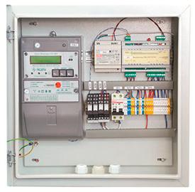 Система дистанционного съема показаний электропотребления (устройство низковольтное комплектное ПСДТУ ШУЭ-GPRS/[СС-301-5.1/U/M]