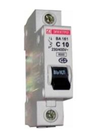 Автоматический выключатель (3SВ1-63) харак С ВА161 1р 50А арт ВА 161-50