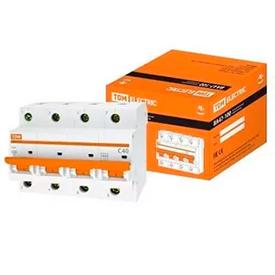 Автоматический выключатель харак С ВА164 4р 40А