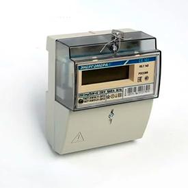 Счетчик СЕ 101 R5.1 145 1ф 5-60А 230В 1класс точн. 1 тариф ЖКИ на рейку и в щит