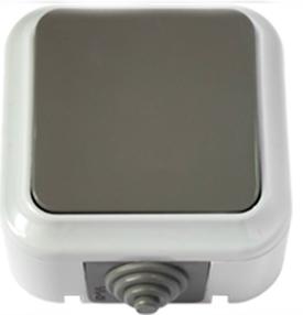 Выключатель А 16-222 (03) серый(ПГ л)