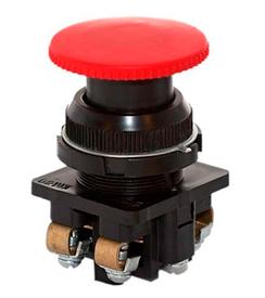 Кнопка КЕ-021 исп. 2 'Стоп' красн.гриб. Электродеталь КЕ-021.2.К