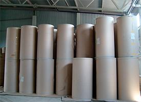 Бумага для внутренних слоев гофрированного картона