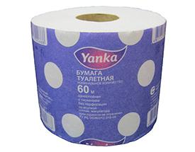 Туалетная бумага в рулончиках 60 м