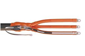 Муфты кабельные до 1 Кв для кабелей с бумажной изоляцией концевые внутренней установки для трёхжильных кабелей