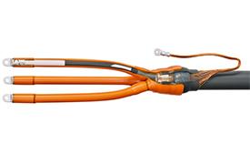 Муфты кабельные не распространяющие горение до 10 кВ концевые внутренней установки