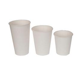 Бумажные стаканчики Однослойные Серия White