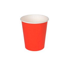 Бумажные стаканчики Однослойные Серия Red