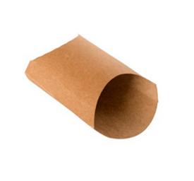 Упаковка для картофеля фри M Двойной крафт