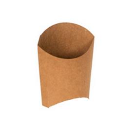 Упаковка для картофеля фри L Двойной крафт