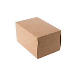 Коробка для фаст-фуда Двойной крафт 350 мл