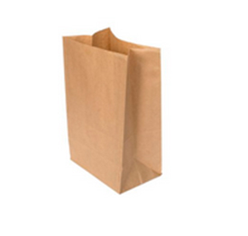 Бумажные пакеты с прямоугольным дном Крафт бурый 70 г