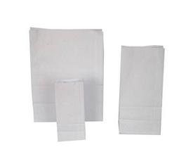 Бумажные пакеты с прямоугольным дном Писчая белая 65 г