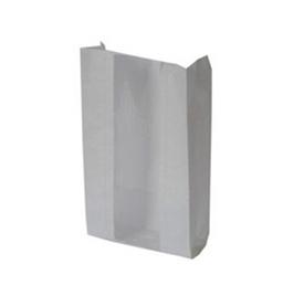 Бумажный пакет с V-образным дном с окном