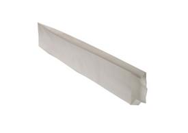 Бумажный пакет с V образным дном без складки, уголки