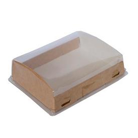Упаковка для выпечки с прозрачным куполом