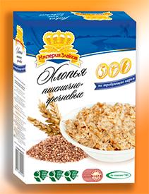 Хлопья пшенично-гречневых не требующие варки, фасовка пакет 500 гр - СМОРГОНСКИЙ КОМБИНАТ ХЛЕБОПРОДУКТОВ