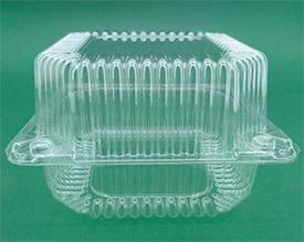 Пластиковые контейнеры для упаковки пищевых продуктов 100х100х130
