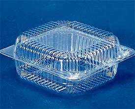Пластиковые контейнеры для упаковки пищевых продуктов 50х50х50
