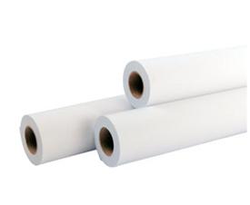 Бумага в рулонах для плоттеров и инженерных машин 80г/м2 (620*50*130)