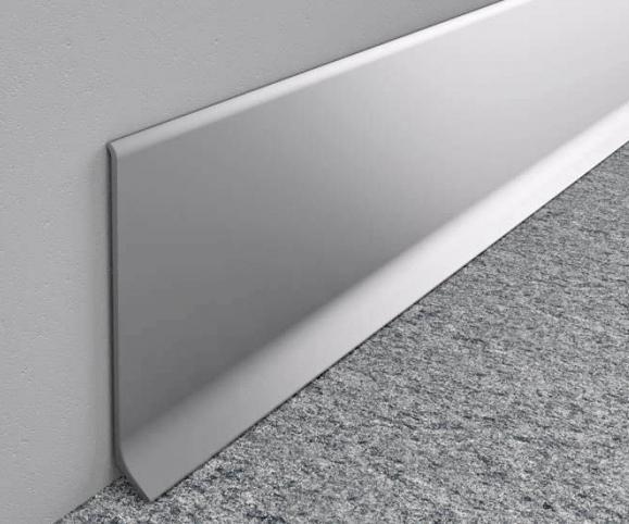 Алюминиевый плинтус LP59/LP80/LP100
