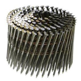 Гвозди барабанные 2,8х90 ершёные, угол наклона 16°