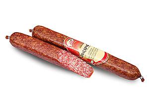 Колбаса салями мясная сырокопченая «Свислочская» высший сорт