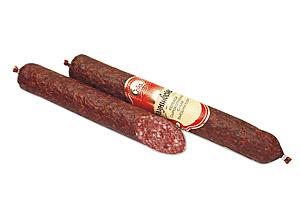 Колбаса сырокопченая сухая «Брауншвейгская» высший сорт