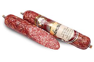 Колбаса сыровяленая салями фирменная «Грибной вкус» высший сорт