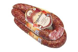 Колбаса сыровяленая сухая «Дедушкина» 1 сорт